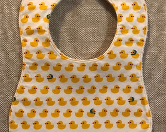 Baby Bib in Japanese Duck fabric
