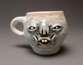 Goofus face mug