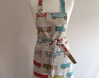 Adults Apron - VW Camper Van - Official VW Licensed fabric