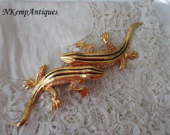 Vintage lizard component