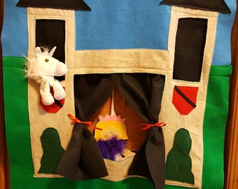 New and Improved Castle Doorway Puppet Theater
