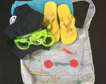 Children's Messenger Bag / Swim Bag