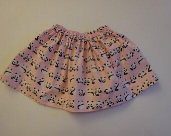 Pink Panda Skirt