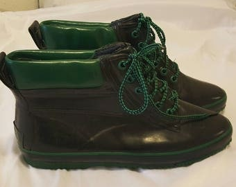 Vintage knockoff Sporto Rain Boots Size 9