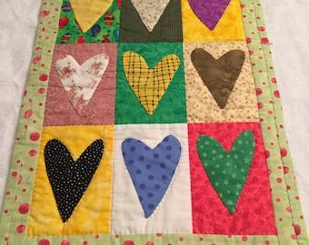 Homemade Doll quilt/blanket
