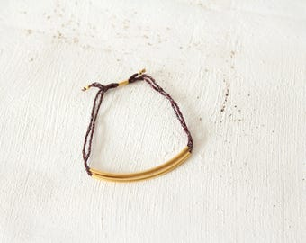 Bracelet wire and fine gold