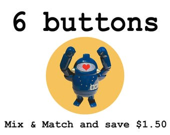 Mix and Match - 6 buttons