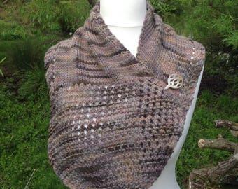 Knitted Sassenach Neck Shawl Scarf....Take Me Home