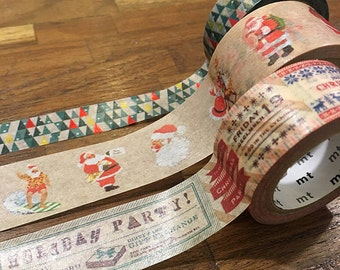 MT Limited Edition Washi Masking Tape - X'mas 2014
