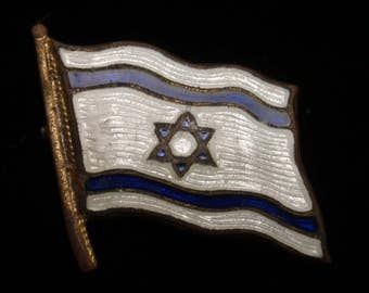 Flag of Israel Lapel Pin