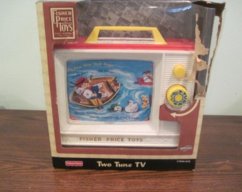 Fisher Price Two Tune T.V. in box