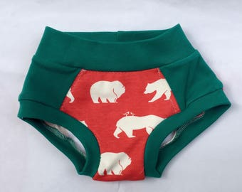 Organic Potty Training Undies- training pants-toddler undies-cloth trainers-toddler gift-learning undies-boy undies-toddler underwear