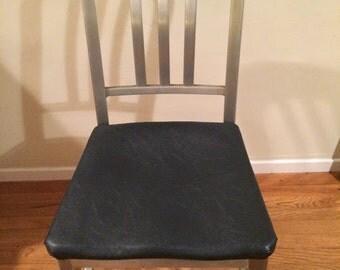 Vintage Goodform Aluminum Navy Chairs