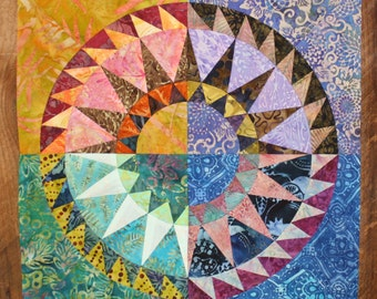 NEW PATTERN-New York Beauty Quilt Block Paper Piecing Pattern - Block 7