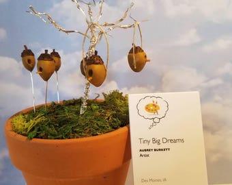 Miniature Acorn Birdhouse