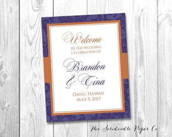 Wedding Programs for TINA