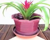 Large Deep Pink Ceramic P...