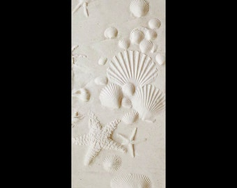 "16"" x 6"" Vertical Beach scape Panel"
