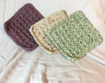 Cotton Dish Cloths, Set of 2