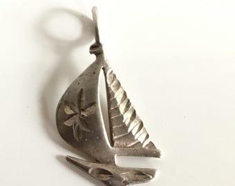 Vintage Sterling Silver Pendant Charm