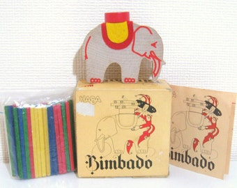 Vintage Haba BIMBADO Game - Made In West Germany
