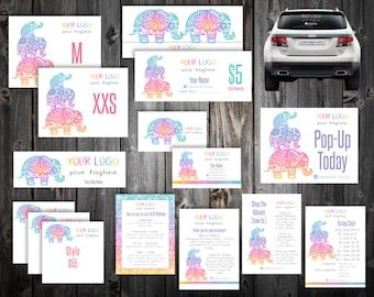 Mega Bundle Marketing Kit - Elephants