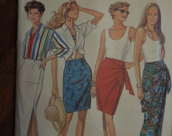 New Look 6045, skirts, size 8-18, misses, womens, UNCUT sewing pattern, craft supplies