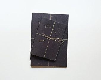 Stars Notebook, Space Notebook, Constellation notebook, A5 A6 notebook - URSA MINOR  Notebook