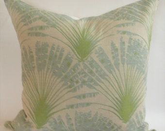 Brisa PIllow Cover in Aqua