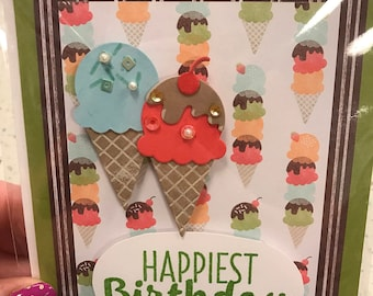 Homemade happy birthday greeting cards