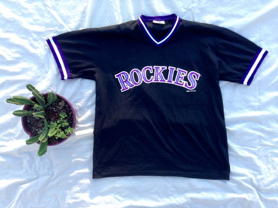 newest collection 13979 bf5c8 Vintage Colorado Rockies Jersey by PingPongSocialClub on ...