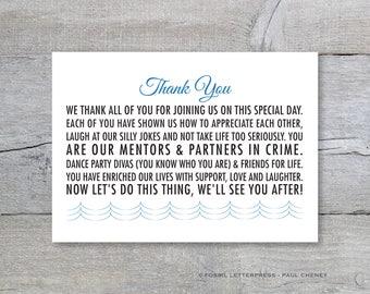 Program thank you | Etsy
