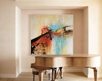 Sale large Abstract Art, Modern Art, Large Abstract Art, Contemporary Art, Large Wall Art, Wall Art, Wall Decor, Large Canvas Art