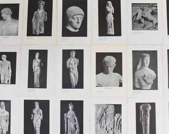 Vintage Black and White Museum Photographic Art Prints, Vintage University Prints - Boston