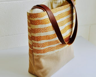 Canvas Tote Bag - Natural Canvas Tote Bag - Yoga bag - Weekender Tote - Beach Bag - Carry All - Shoulder bag - Hand Made in Australia