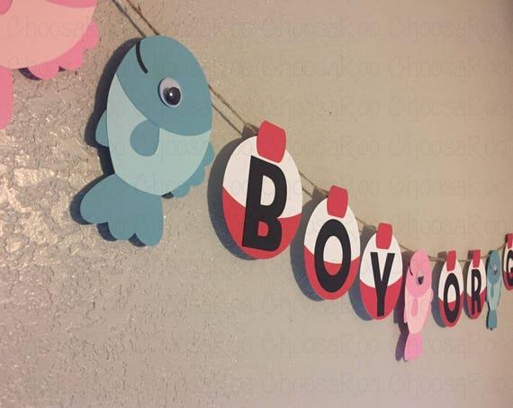 Fishing Party Fish Bobber Boy Or Girl Gender