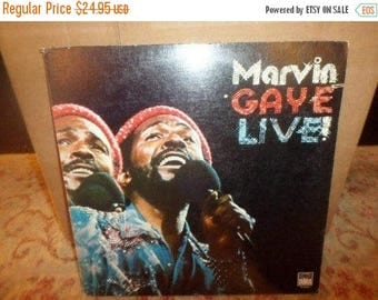 Save 30% Today Vintage 1974 Vinyl LP Record Marvin Gaye Live! Near Mint Condition NICE Record! 6233