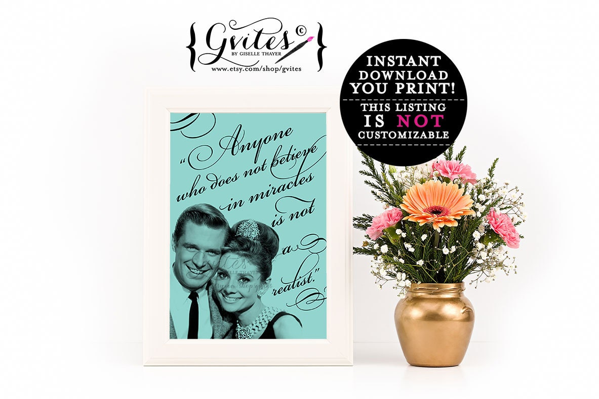 Audrey Hepburn Wall Decor Audrey Hepburn Wall Decor Breakfast Bridal Shower Party Signs