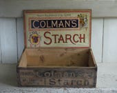 Rare Antique Colmans Star...
