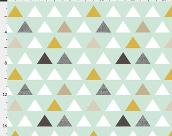 Stokke Sleepi Sheet  - Mod Mint - Spoonflower - Fitted Stokke Sleepi Crib Sheet - Ready to Ship