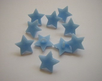 10 Blue Star buttons