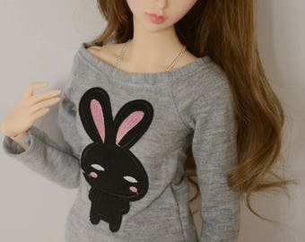 Black bunny shirt Feeple60