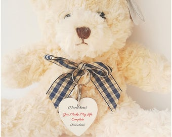 Personalised Love Message Teddy Bear