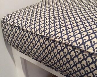 custom window seat cushion