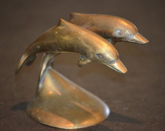 Brass Jumping Dolphins