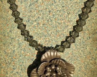 HANDMADE gorgeous Swarovski necklace choker