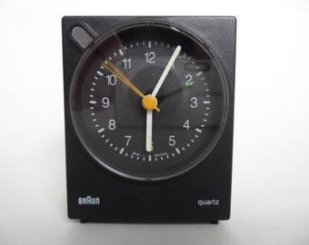 Braun Voice Control 4763/AB 30 vs,original Voice Control,Dieter Lubs,Braun alarm clock,Braun Quartz clock,made in Germany,small black clock