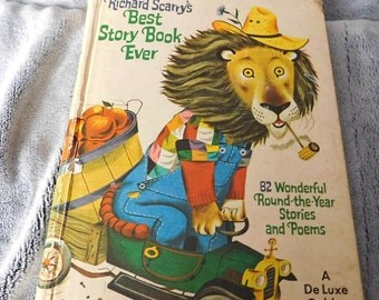 Richard Scarry's Best Story Book Ever 82 Stories and Poems