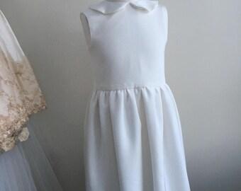 Handmade Silk First Communion/Flower Girl Dress