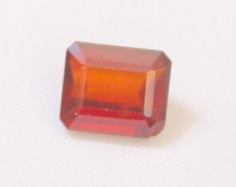 4.45 carat Natural Hassonite garnet faceted cut loose gemstone size 9.90 mm x 8.30 mm x 4.95 mm approx. 0181